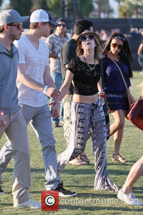 Chord Overstreet, Emma Roberts and Coachella 3