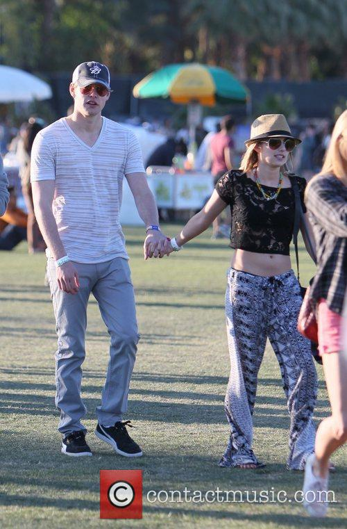 Chord Overstreet, Emma Roberts and Coachella 4