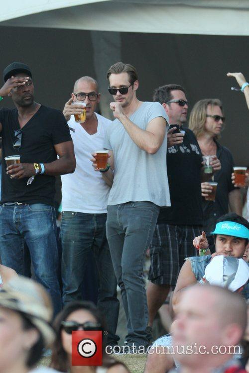 Alexander Skarsgard and Coachella 2