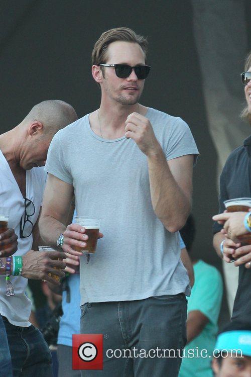 Alexander Skarsgard and Coachella 4