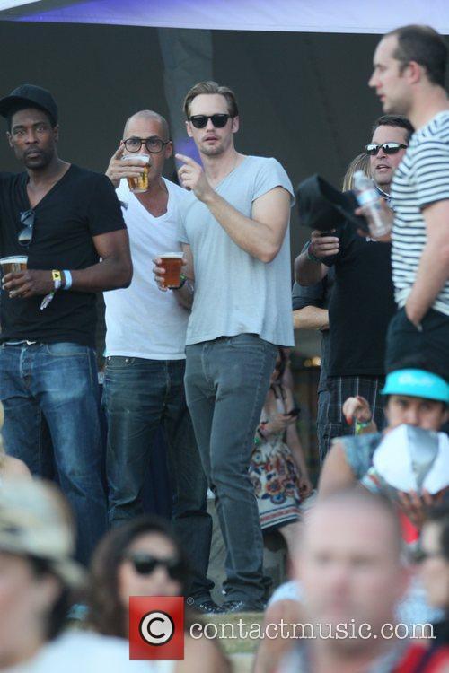 Alexander Skarsgard and Coachella 8