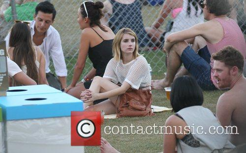 Emma Roberts and Coachella 4
