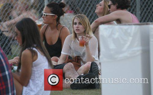 Emma Roberts and Coachella 7