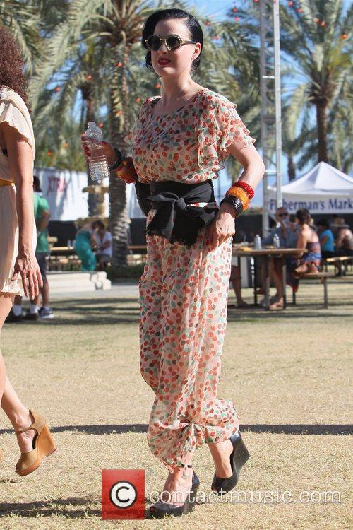 Dita Von Teese and Coachella 2