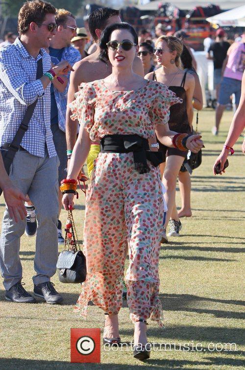Dita Von Teese and Coachella 5