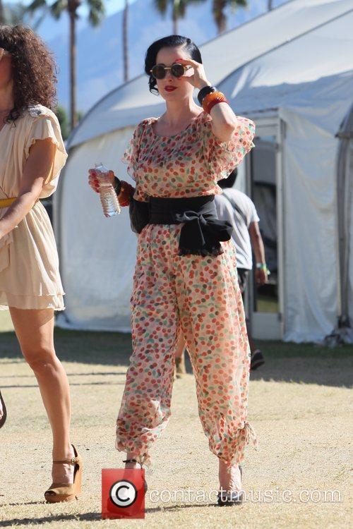 Dita Von Teese and Coachella 8