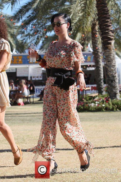 Dita Von Teese and Coachella 9