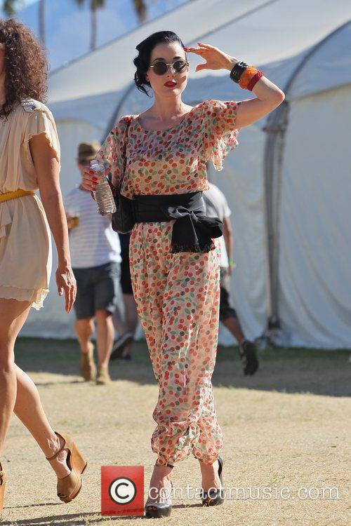 Dita Von Teese and Coachella 11
