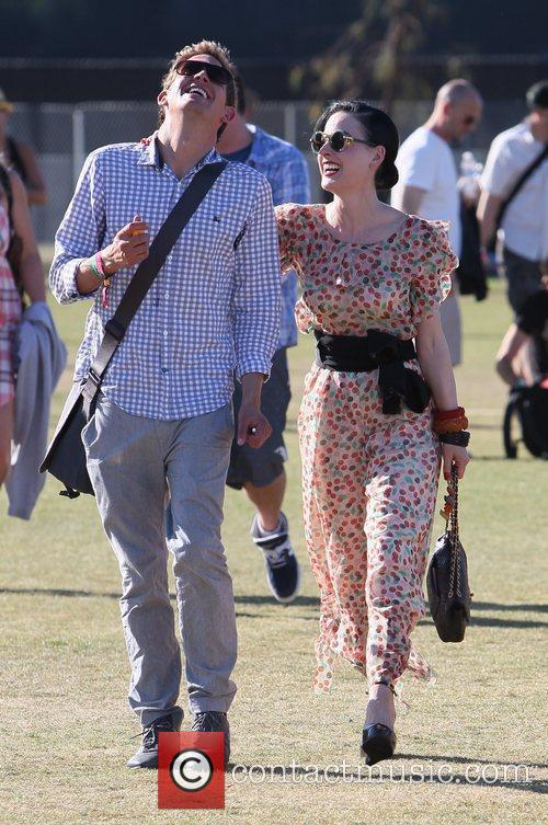 Dita Von Teese and Coachella 1
