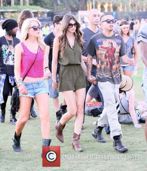 Evan Ross and Coachella 2