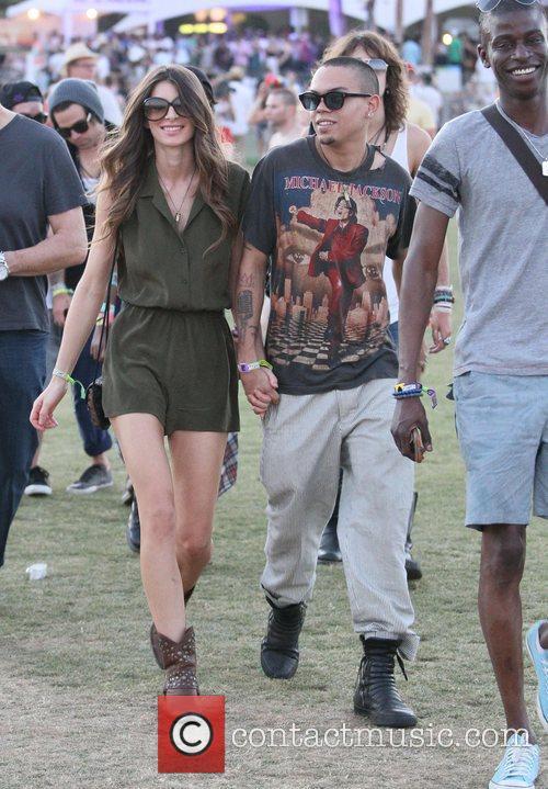 Evan Ross and Coachella 3