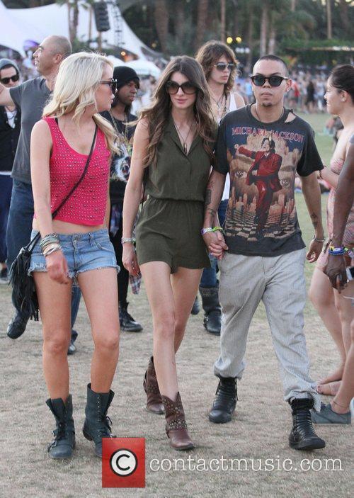 Evan Ross and Coachella 4