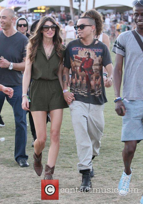 Evan Ross and Coachella 5