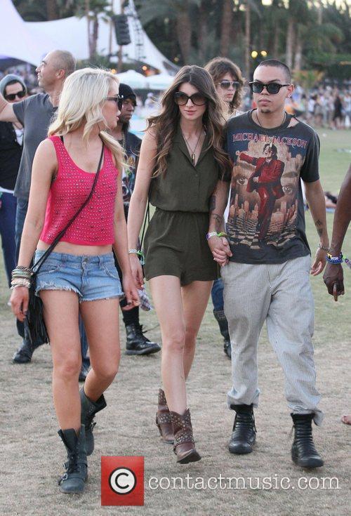 Evan Ross and Coachella 6