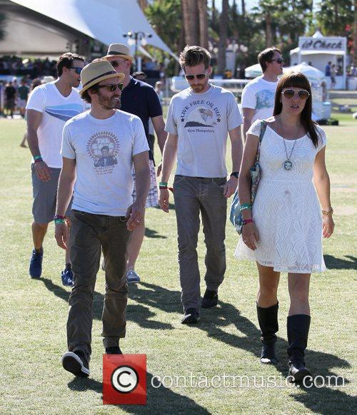 Celebrities at the 2012 Coachella Valley Music and...