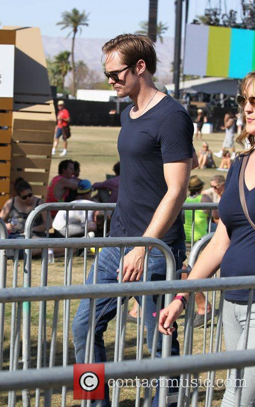 Alexander Skarsgard and Coachella 2