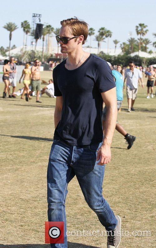 Alexander Skarsgard and Coachella 3