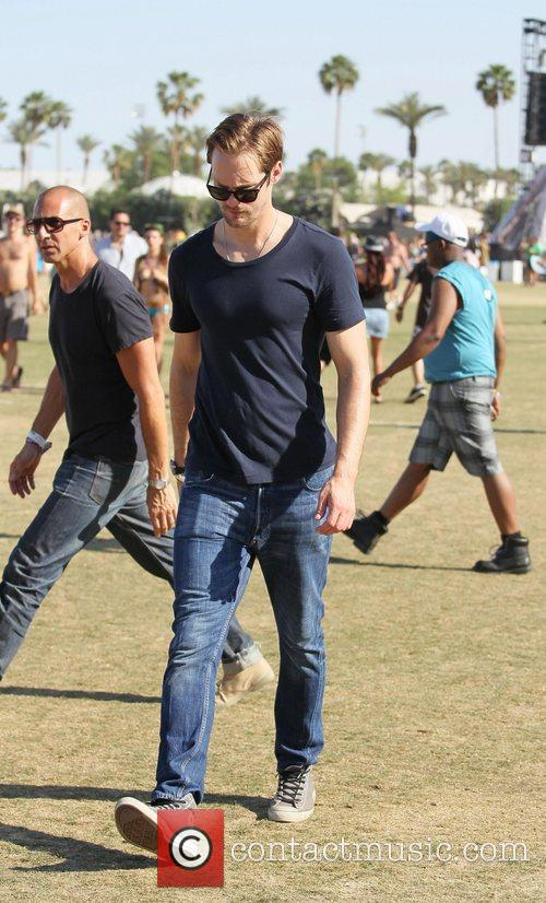 Alexander Skarsgard and Coachella 5