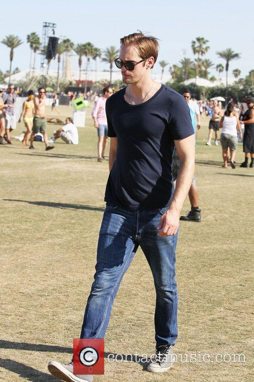Alexander Skarsgard and Coachella 6
