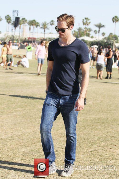 Alexander Skarsgard and Coachella 1