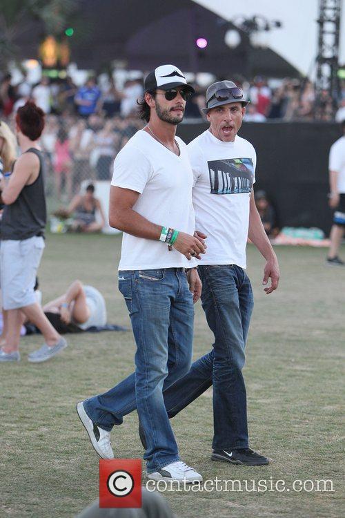 Lorenzo Martone Celebrities at the 2012 Coachella Valley...