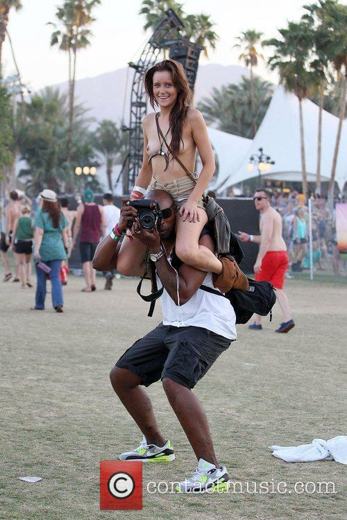 During the 2012 Coachella Valley Music and Arts...
