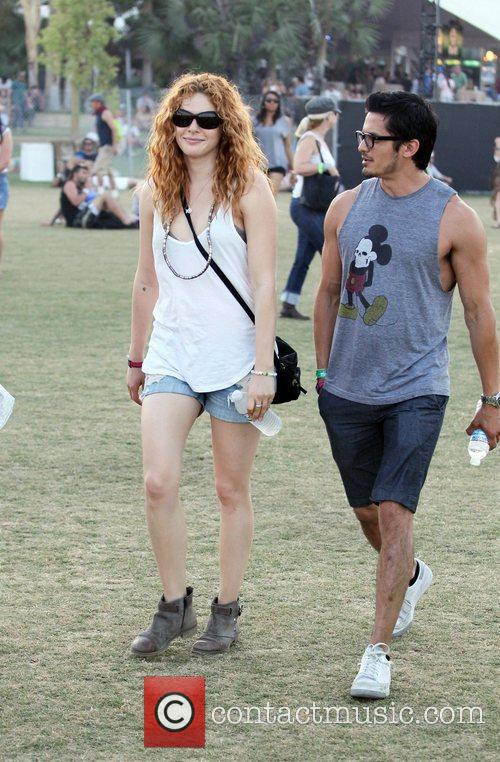 Rachelle Lefevre and Coachella 1