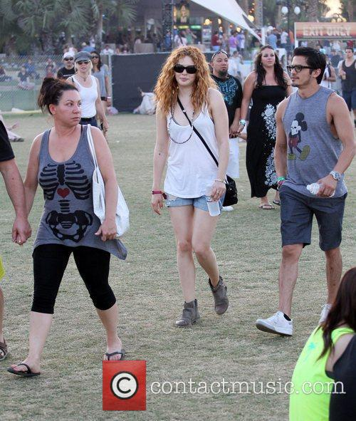 Rachelle Lefevre and Coachella 4