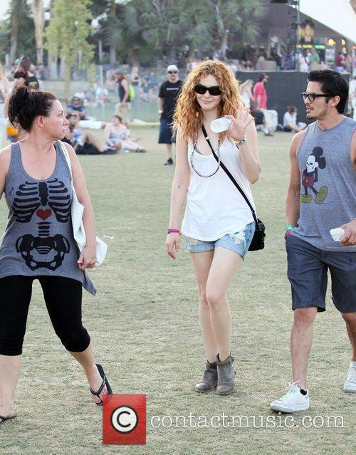 Rachelle Lefevre and Coachella 5