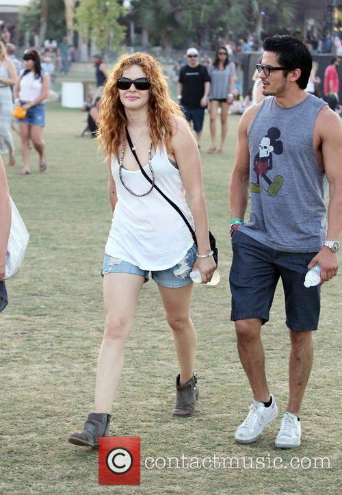 Rachelle Lefevre and Coachella 6