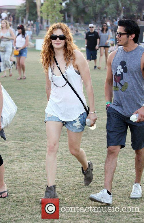 Rachelle Lefevre and Coachella 7