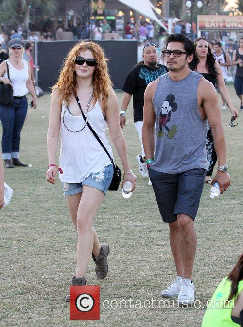 Rachelle Lefevre and Coachella 8