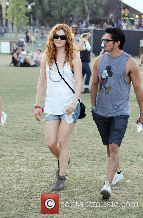 Rachelle Lefevre and Coachella 9