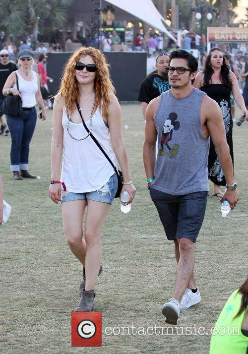 Rachelle Lefevre and Coachella 11