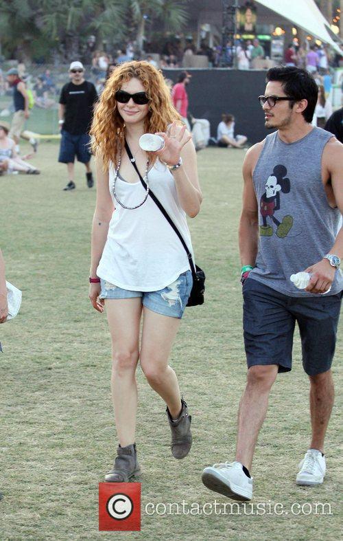 Rachelle Lefevre and Coachella 12