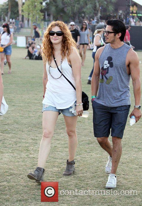 rachelle lefevre celebrities at the 2012 coachella 3842847
