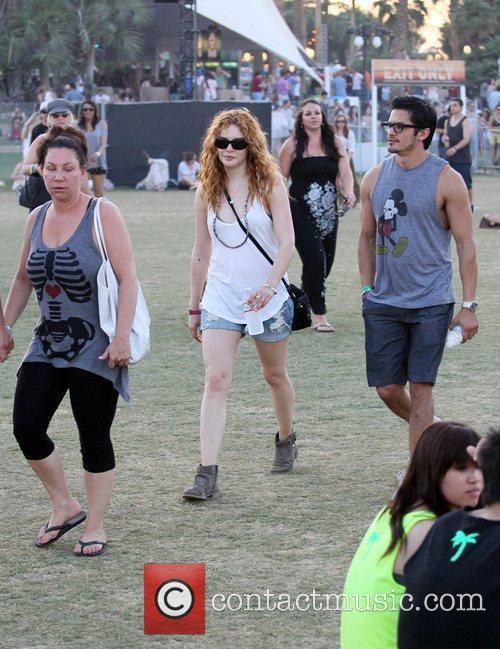 Rachelle Lefevre and Coachella 14