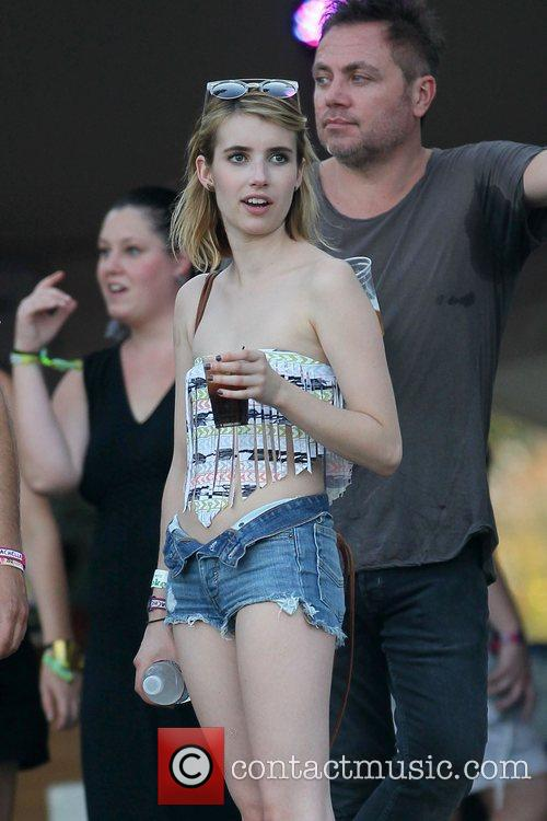 Emma Roberts and Coachella 1