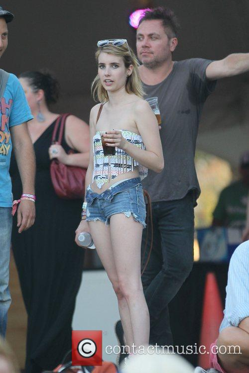 Emma Roberts and Coachella 10