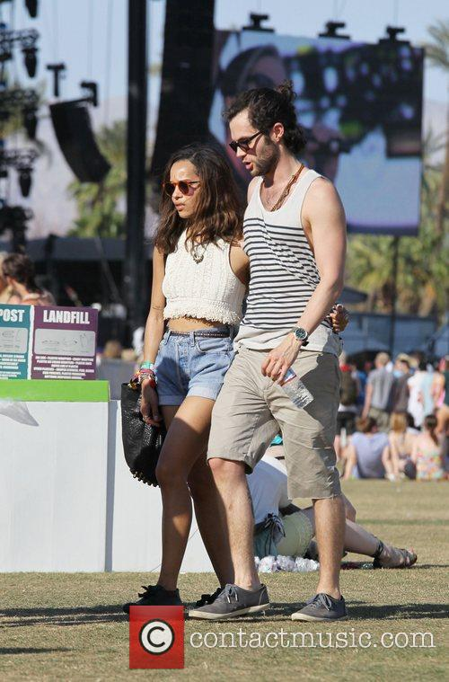 Zoe Kravitz, Penn Badgley and Coachella 8