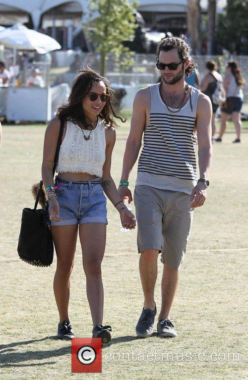 Zoe Kravitz, Penn Badgley and Coachella 9