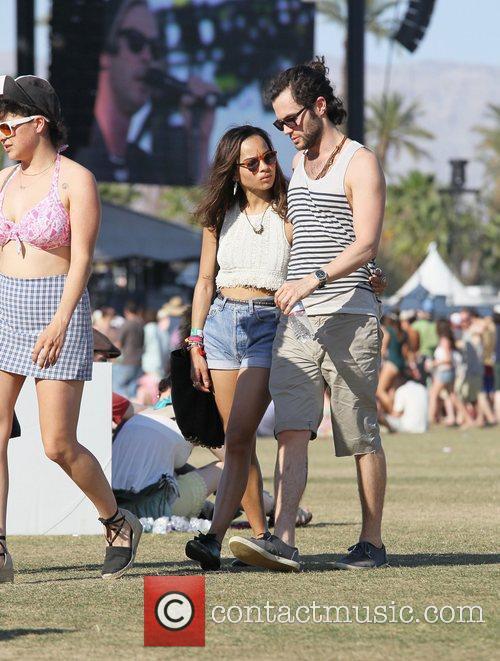 Zoe Kravitz, Penn Badgley and Coachella 11