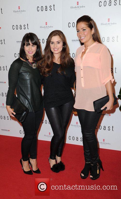 Jessica Fox, Rachel Shenton and Nicki Sanderson 3