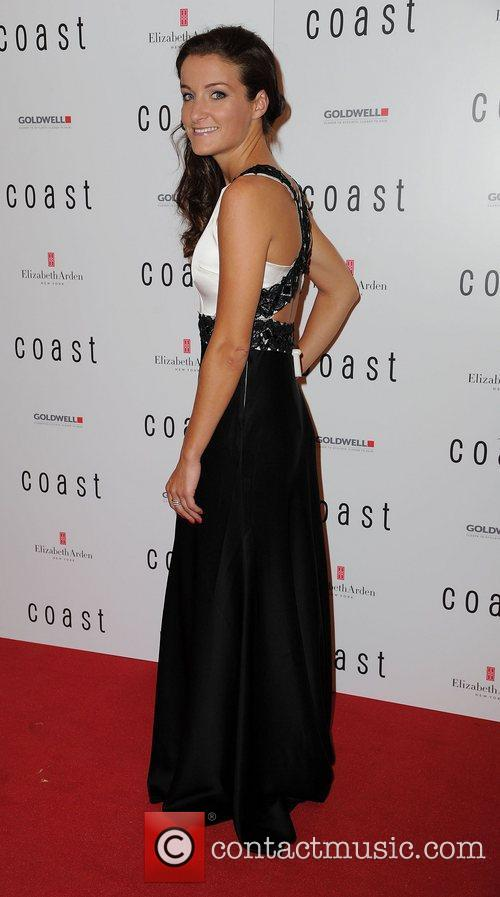 Lizzie Armitstead Grand opening of Coast's flagship store...