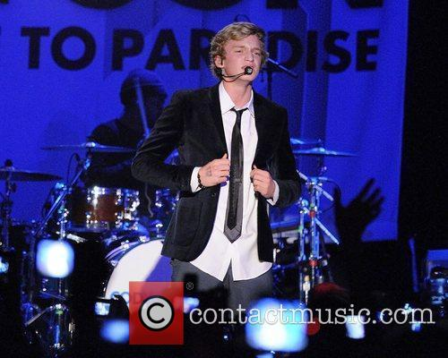 Cody Simpson  performs live on stage at...