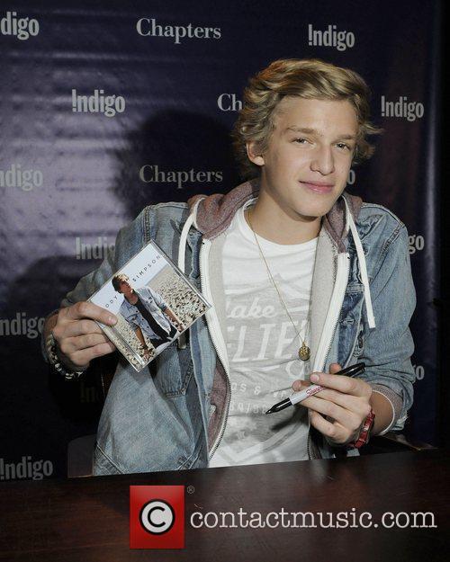 CD signing at Chapters John and Richmond.