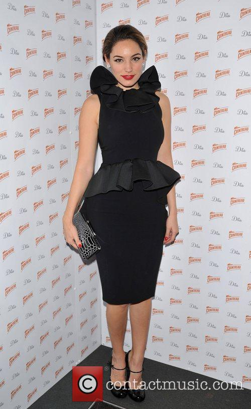 Kelly Brook Cointreau Prive Pop-Up Bar - launch....