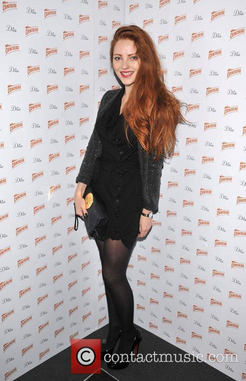 Lucy Brown Cointreau Prive Pop-Up Bar - launch....