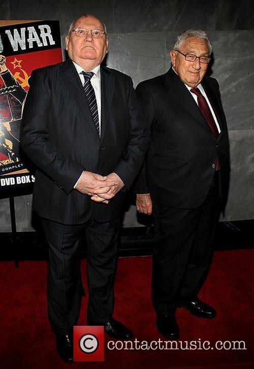 Mikhail Gorbachev, Henry Kissinger and Paley Center For Media