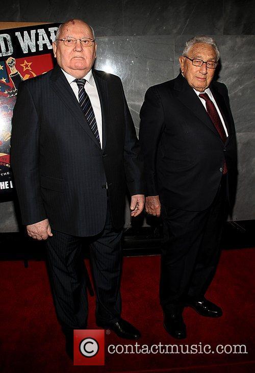 Mikhail Gorbachev, Henry Kissinger and Paley Center For Media 1
